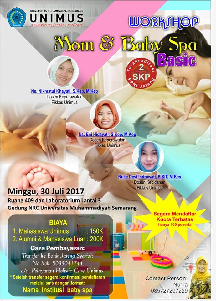 POSTER MOM AND BABY SPA